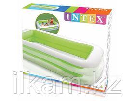 Детский надувной бассейн Intex 56483, Морская волна, фото 3