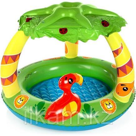 Детский надувной бассейн, Джунгли, Bestway 52179, размер 91х71 см, фото 2