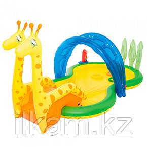 Игровой бассейн Зоопарк с душом Intex 53060, размер 338х167х129 см, фото 2