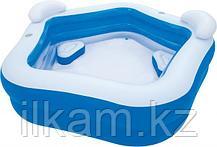 Детский надувной бассейн, Bestway 54153, размер 213х207х69 см, фото 2