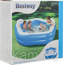 Детский надувной бассейн, Bestway 54153, размер 213х207х69 см, фото 3