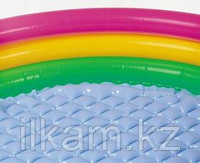 Детский надувной бассейн Intex 58924, «Радуга», размер 86х25 см, фото 3
