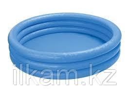 Детский круглый надувной бассейн Intex 59416, Crystal Blue Pool, Размер 114х25 см, фото 2