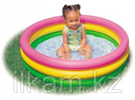 Детский надувной бассейн Intex 57107, Радуга, 61х22 см, фото 2