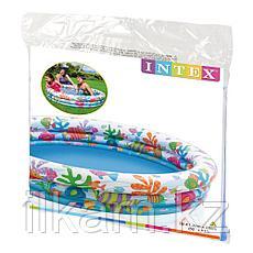 Надувной детский бассейн Intex 59431, размер 132х28 см, фото 2