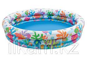 Надувной детский бассейн Intex 59431, размер 132х28 см, фото 3