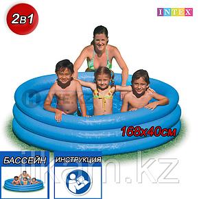 Детский надувной бассейн Intex 58446, размер 168x40 см, фото 2