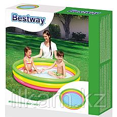 Детский надувной бассейн, Радуга, Bestway 51103, размер 152х30 см, фото 2