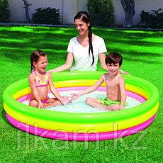 Детский надувной бассейн, Радуга, Bestway 51103, размер 152х30 см, фото 3