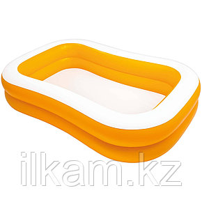 Детский надувной бассейн Intex 57181, Мандарин, размер 229х147х46 см, фото 2