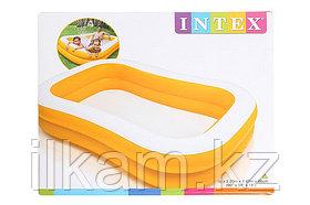 Детский надувной бассейн Intex 57181, Мандарин, размер 229х147х46 см, фото 3