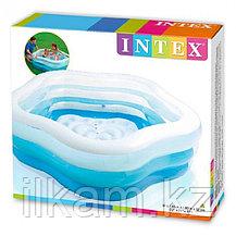 Надувной бассейн Intex 56495, Summer Colors, 185х180х53см, фото 3
