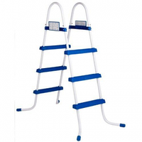 Металлическая лестница Bestway 58393, для каркасных и надувных бассейна, высота 91 см
