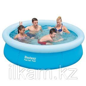 Круглый надувной бассейн, Bestway 57252, Fast Set Pool, размер 198х51 см, фото 2