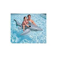 Детская надувная Акула, Bestway 41032, размер 185 х 112 см