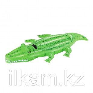 Детский надувной крокодил Bestway 41011, размер 203х117 см