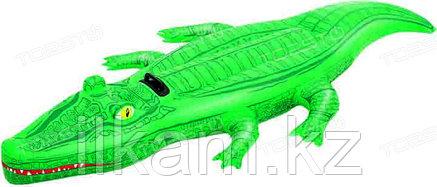 Детский надувной крокодил Bestway 41011, размер 203х117 см, фото 2