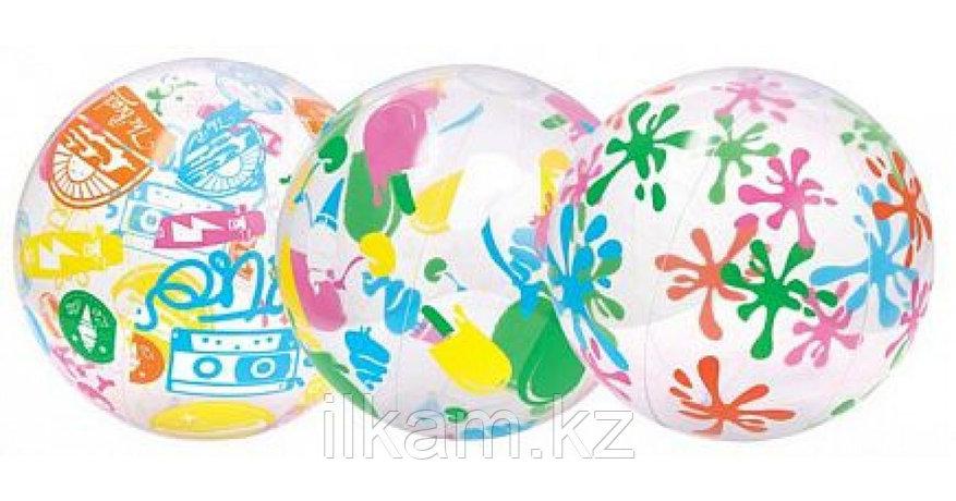 Детский надувной мяч, Bestway 31001, размер 61 см, в ассортименте, фото 2