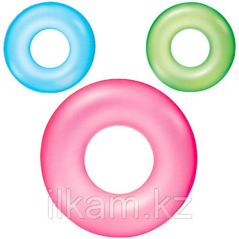 Детский надувной круг, Frosted Neon Swim Ring, Bestway 36022, размер 51 см, фото 2