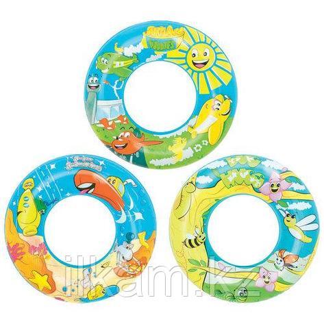 Детский надувной круг, Bestway 36013, в ассортименте, размер 56 см, фото 2