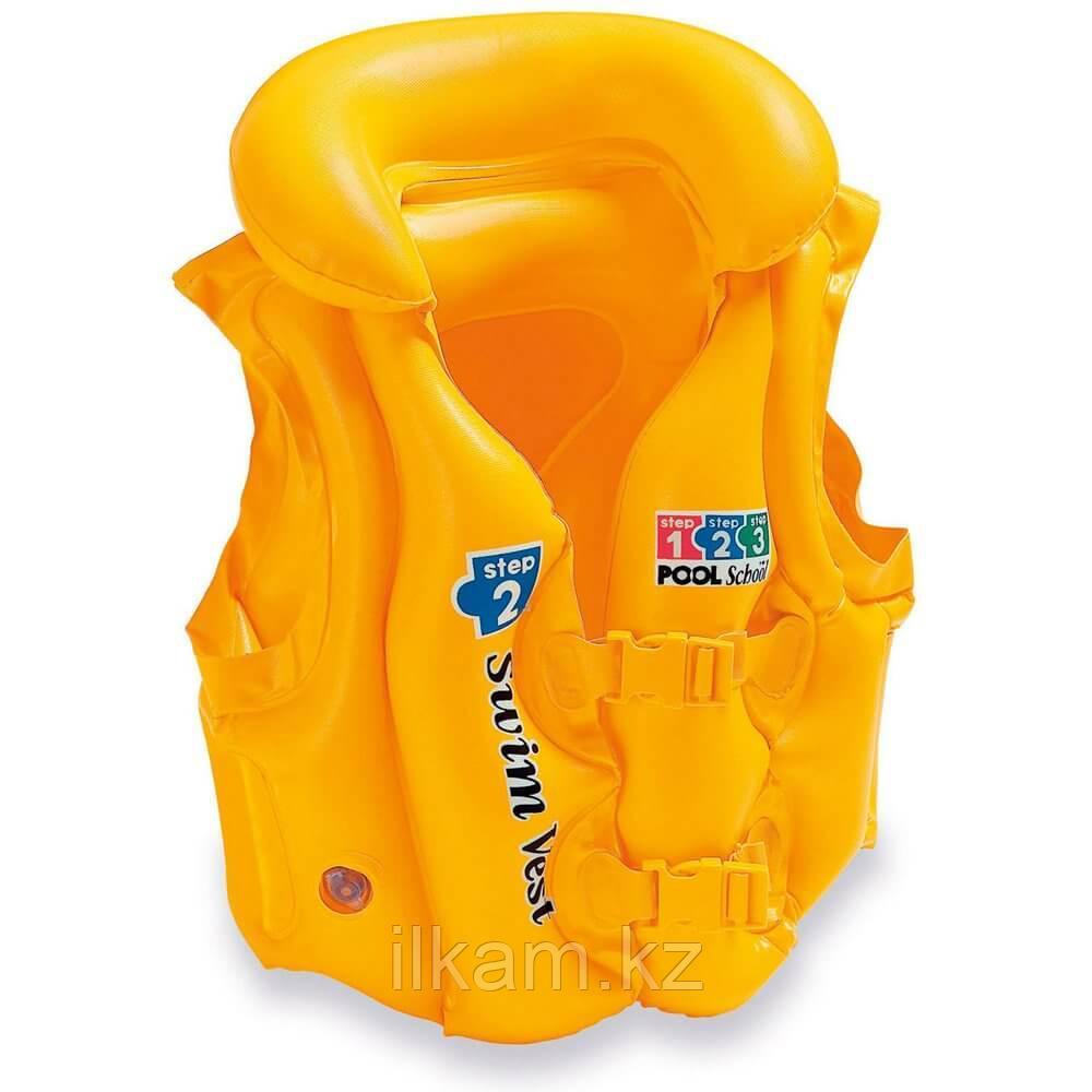 Детский надувной жилет для плавания 50х47 см, 3-6 лет, Intex 58660