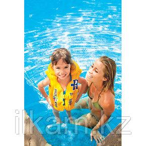 Детский надувной жилет для плавания 50х47 см, 3-6 лет, Intex 58660, фото 2
