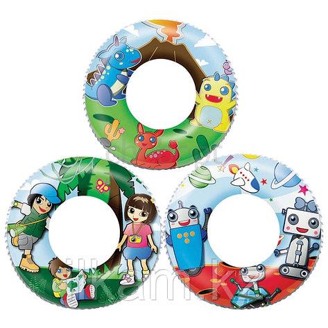 Детский надувной круг Bestway 36014, В ассортименте, размер 61 см, фото 2