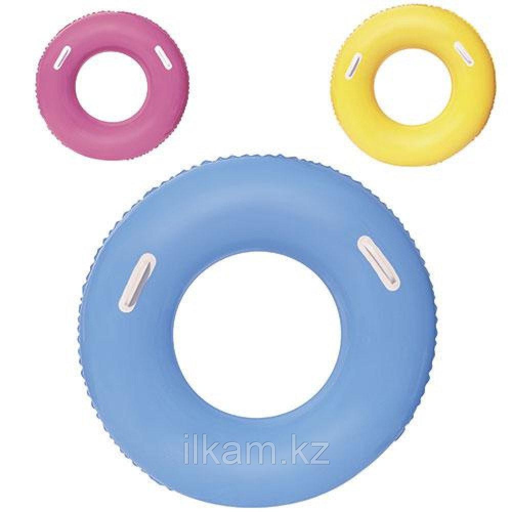 Детский надувной круг с ручками, Swim Tube, Bestway 36084, размер 91 см
