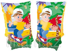 Детские надувные нарукавники, для плавания, Jungle Trek, Bestway 32102, размер 30х15 см