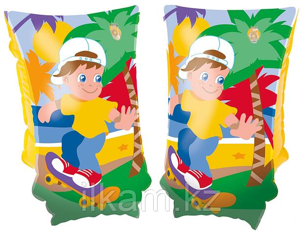 Детские надувные нарукавники, для плавания, Jungle Trek, Bestway 32102, размер 30х15 см, фото 2