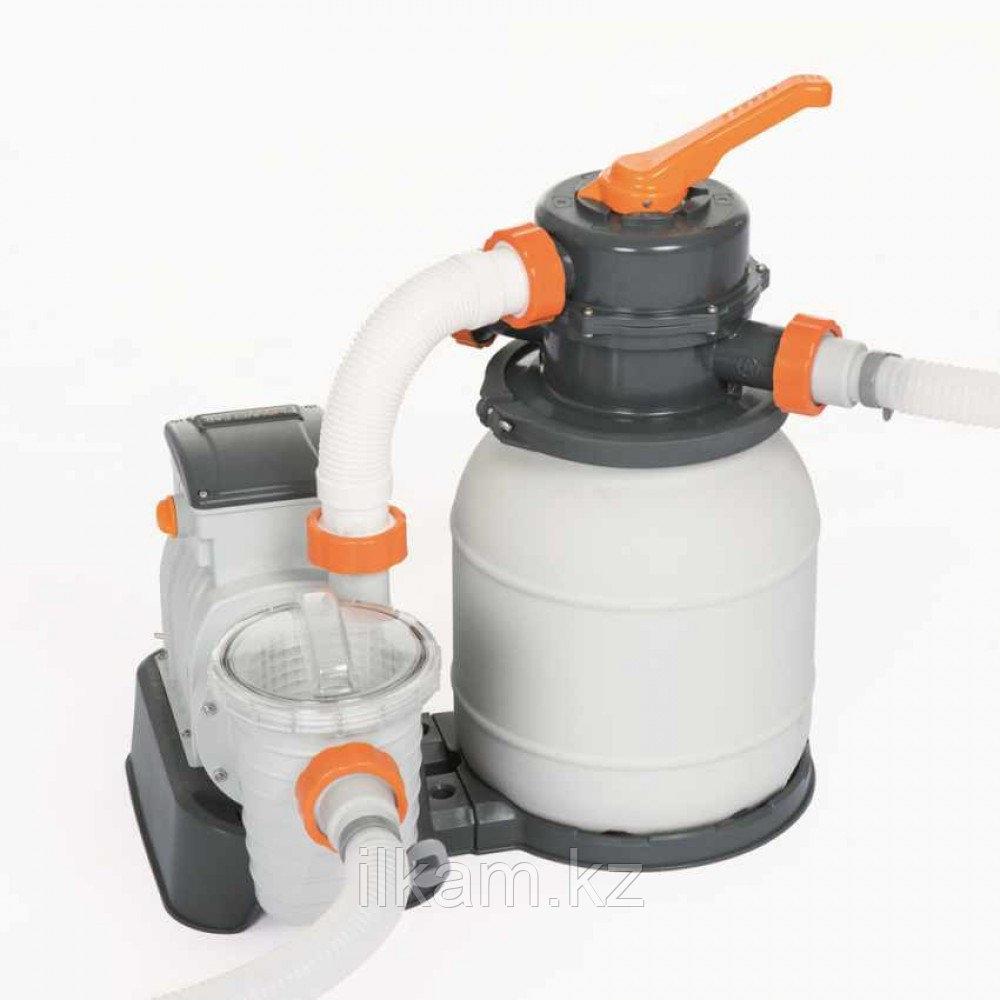 Песочный фильтр-насос, Bestway 58495, Flow Clear, производительность 3.8 м3\час