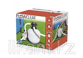 Песочный фильтр-насос, Bestway 58497, Flow Clear, производительность 5.6 м3\час