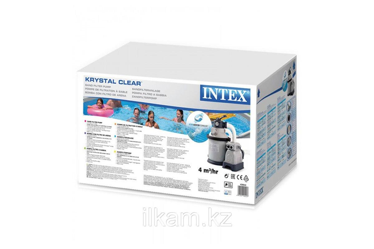 Песочный фильтр-насос 28644, 26644, INTEX, производительность фильтра-насоса 4.000 л/час