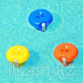 Поплавок-дозатор с термометром, Bestway 58209, диаметр дозатора 18,5 см, фото 2