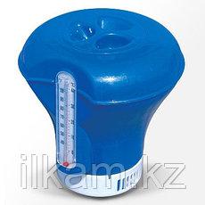 Поплавок-дозатор с термометром, Bestway 58209, диаметр дозатора 18,5 см, фото 3