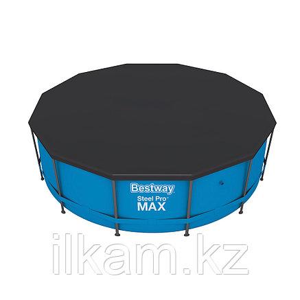 Тент-крышка для каркасного бассейн Bestway 58037, размер 366 см, фото 2