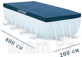 Чехол-тент для каркасного бассейна, Intex 28037, размер 400X200 см