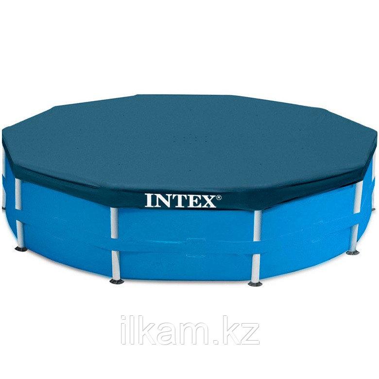 Тент-крышка, для каркасного бассейна 28032, размер 457 см