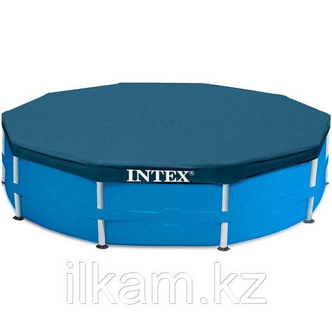 Тент-крышка, для каркасного бассейна 28032, размер 457 см, фото 2