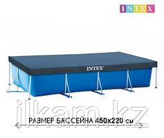 Тент для каркасного бассейна, Intex 28039, размер 450x220 см