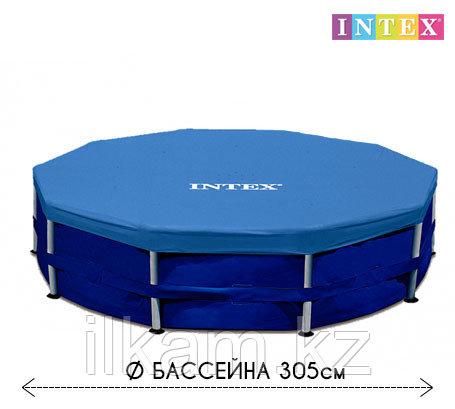 Чехол - тент для каркасного бассейна 28030 INTEX, диаметром 305 см