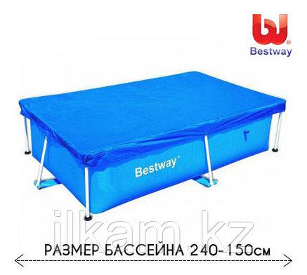 Тент для каркасного бассейна 58104 Bestway, размером 239 -150 см, фото 2