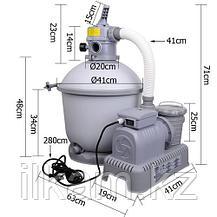 Песочный фильтр-насос, Bestway 58257, производительность-3,785 L\h, фото 3