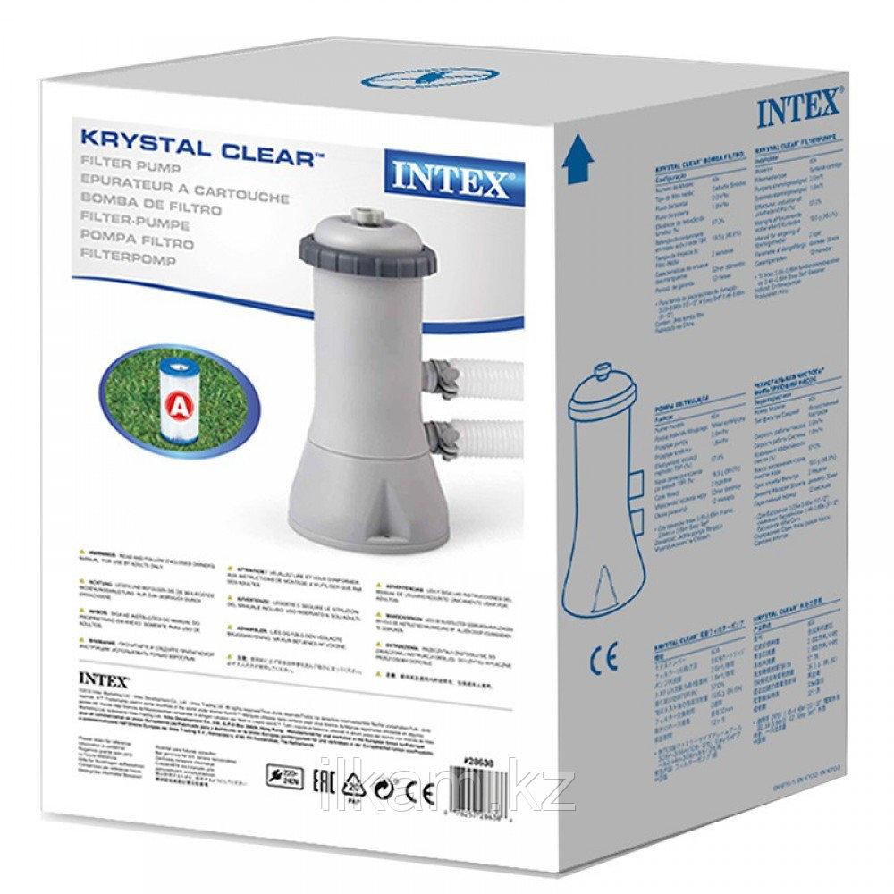 Картриджный фильтр-насос, INTEX 28638, производительностью 3,785 л/час