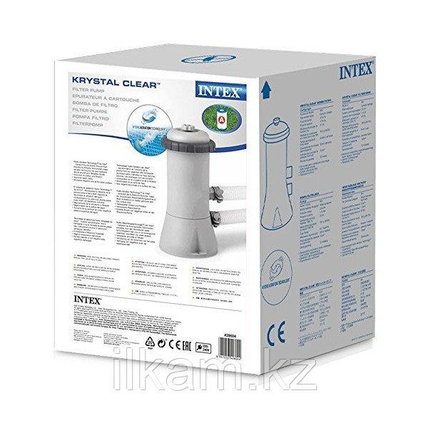 Картриджный фильтр-насос, Intex 28604, производительность 2006 л/ч