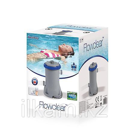 Картриджный фильтр-насос, Bestway 58093, производительность- 1,249L\h, фото 2