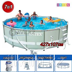 Каркасный бассейн Intex 28310, Ultra Frame Pool, размер 457x107 cм, фото 2