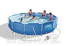 Каркасный бассейн 56416, Steel Pro Frame Pool, размер 366x76 см, фото 3