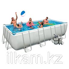 Каркасный бассейн Intex 26356NP, 28352, 26356, Rectangular Ultra Frame Pool , размер 549 х 274 х 132 см, фото 3
