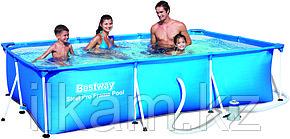 Каркасный бассейн Bestway 56411, Steel Pro Frame Pool, размер 300x200x66 см, с фильтром, фото 2